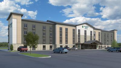Rendering of the new WoodSpring Suites Signature prototype
