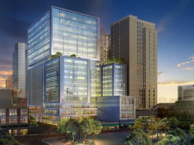 Rendering of Hilton Garden Inn Pittsburgh Downtown