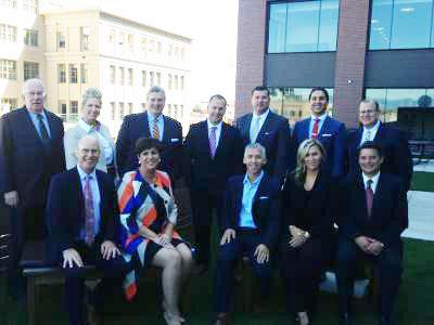 Hotel Business Executive Roundtable participants