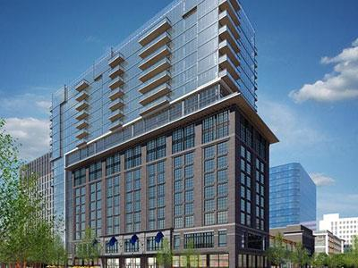 Rendering of the Canopy by Hilton Washington