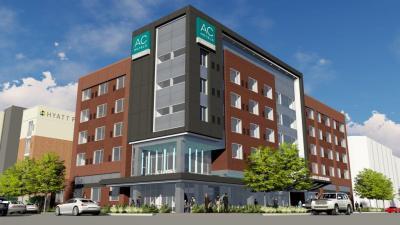 Rendering of AC Hotel Bricktown