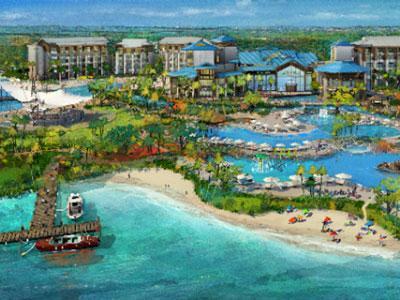 Margaritaville resort orlando reveals first rendering for Design hotel orlando