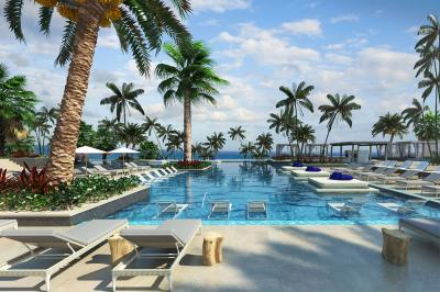 Rendering of Unico Hotel Riviera Maya's pool