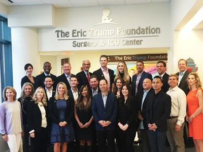 The Eric Trump Foundation Surgery & ICU Center at St. Jude Children's Research Hospital