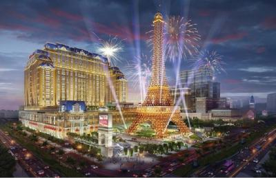 Rendering of The Parisian Macao