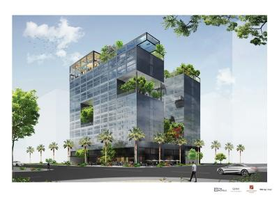 A rendering of new lifestyle brand Tim Hotels.