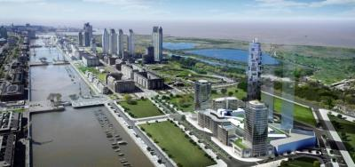 A rendering of Madero Harbour