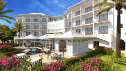 Rendering of the Best Western Premier Hotel at St. Mary's Court on the island of Antigua