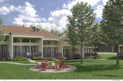 Rendering of villas to be added to the Grand Geneva Resort & Spa