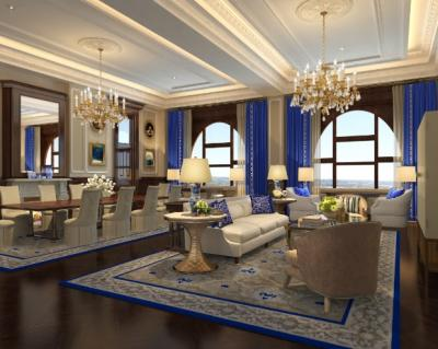 A suite at the Trump International Hotel in Washington