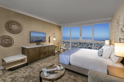 Rendering of the Hawaii Prince Hotel Waikiki room redesign