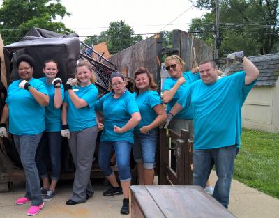Volunteerism is on the rise at John Q. Hammons Hotels & Resorts' Embassy Suites by Hilton St. Louis – St. Charles in Missouri.