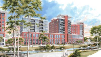 Rendering of Embassy Suites by Hilton in Greenville