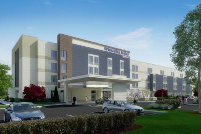 Rendering of SpringHill Suites by Marriott Mt. Laurel