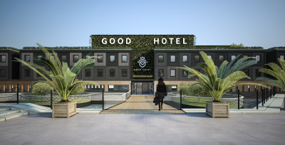 Rendering of Good Hotel London