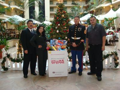 WCG Hotels' Toys for Tots campaign