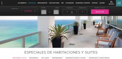 Fontainebleau Miami Beach website translated via MotionPoint