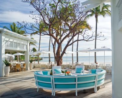 Beach club at Fisher Island Club
