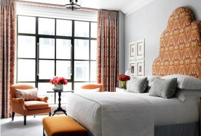 Each guest bedroom at The Whitby has been styled by Kit Kemp.