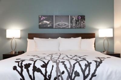 Choice Hotels' new Sleep Inn prototype bedroom