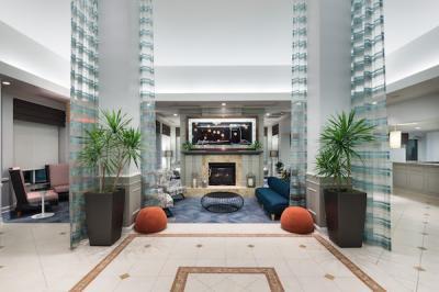 Lobby at Hilton Garden Inn Frisco