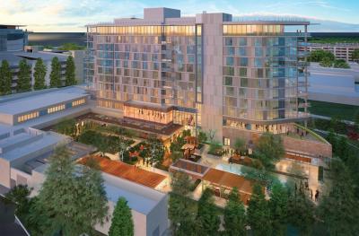 Rendering of Hotel Nia