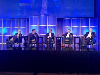 On the President's Panel (l.-r.): La Quinta's Keith Cline
