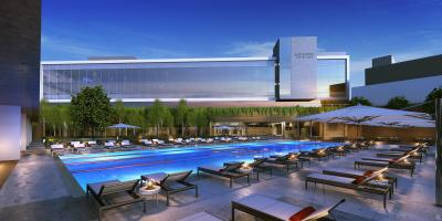 Rendering of the Planned Hotel
