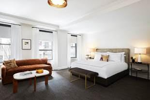 New guestrooms at the Talbott Hotel in Chicago