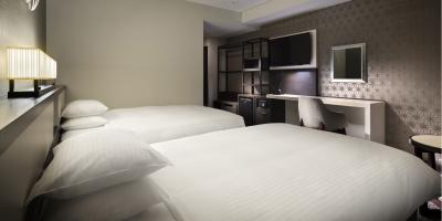 Guestroom at Four Points by Sheraton Hakodate