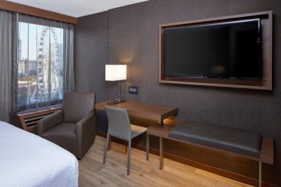 Guestroom at AC Hotel Atlanta Downtown