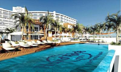 Rendering of Hard Rock Hotel Daytona Beach