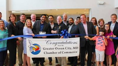 Ribbon-cutting ceremony for Fairfield Inn & Suites by Marriott Ocean City