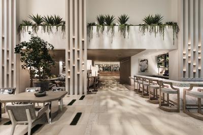 Lobby at Dream Hollywood