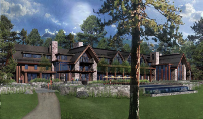 Rendering of Aeolus Mountain Hotel and Spa