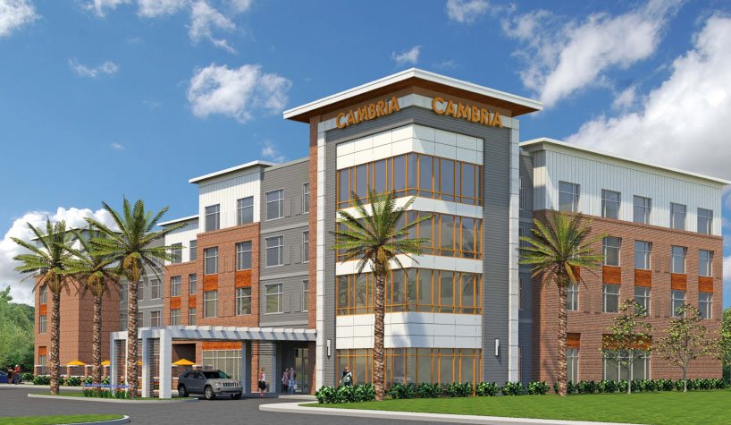 Cambria Hotels Breaks Ground In Mount Pleasant Sc