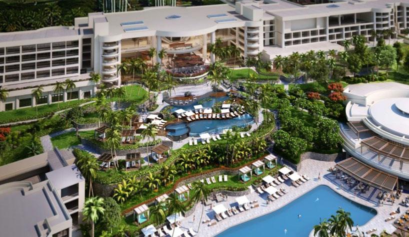 Mauna kea resort westin hotels resorts sign franchise for Hotel design kea