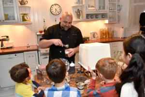 Chef Goldman goes over how to make a s'mores jar