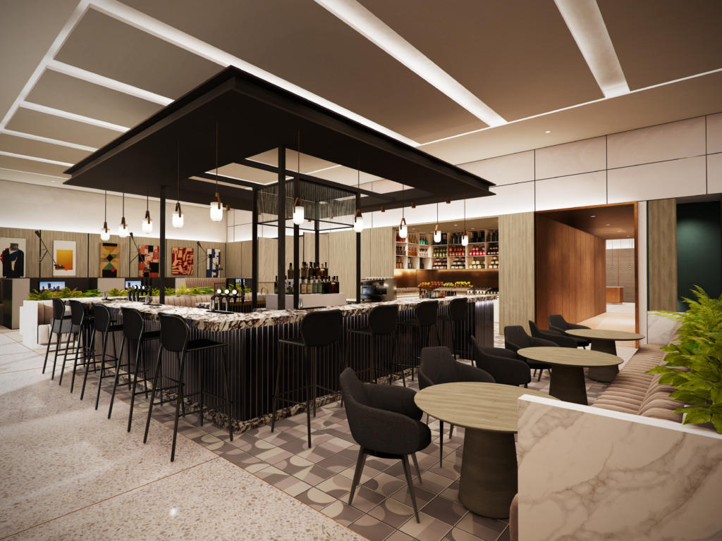 A new bar is planned for Crowne Plaza Hotels & Resorts.