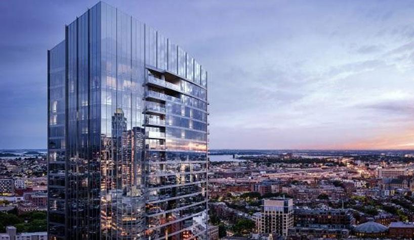 Raffles Boston Back Bay Hotel Residences Photo The Architectural Team Binyan Studios