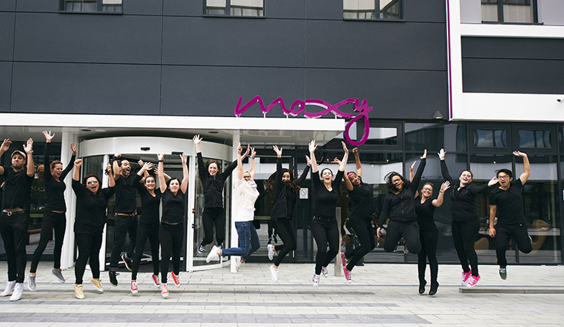Moxy Hotels Has Collaborated With Uucb To Create An Original Employee Crew Training