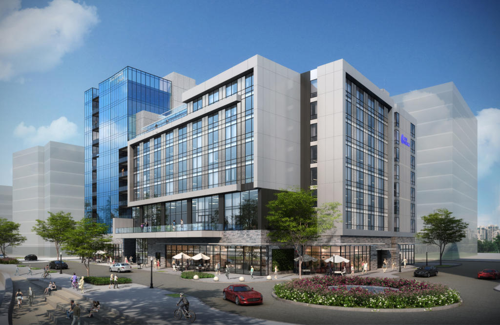 Rendering of Hotel Indigo Vancouver Downtown