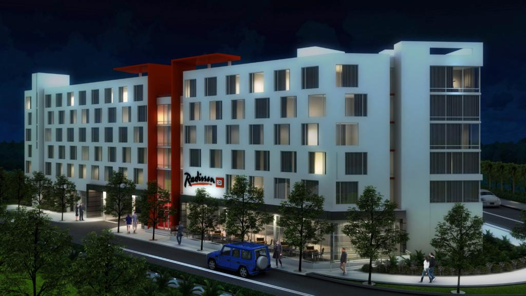 Rendering of the Radisson Red Miami Airport