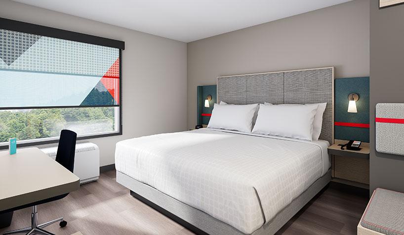 Guestroom rendering