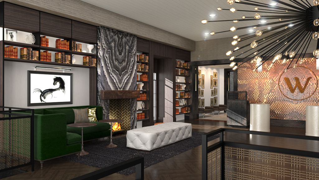 Rendering of The Grady Hotel
