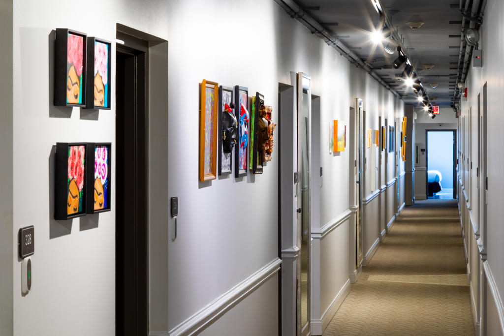 The Annex at Hotel Chicago West Loop is giving these special artists their own gallery to showcase their talent.