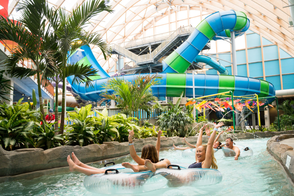 The Lazy River at the Kartrite Resort & Indoor Waterpark.