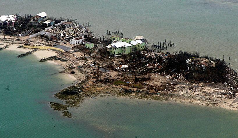 was nassau bahamas hit by dorian